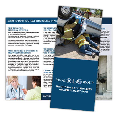 car accident brochure
